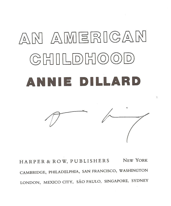 Annie Dillard