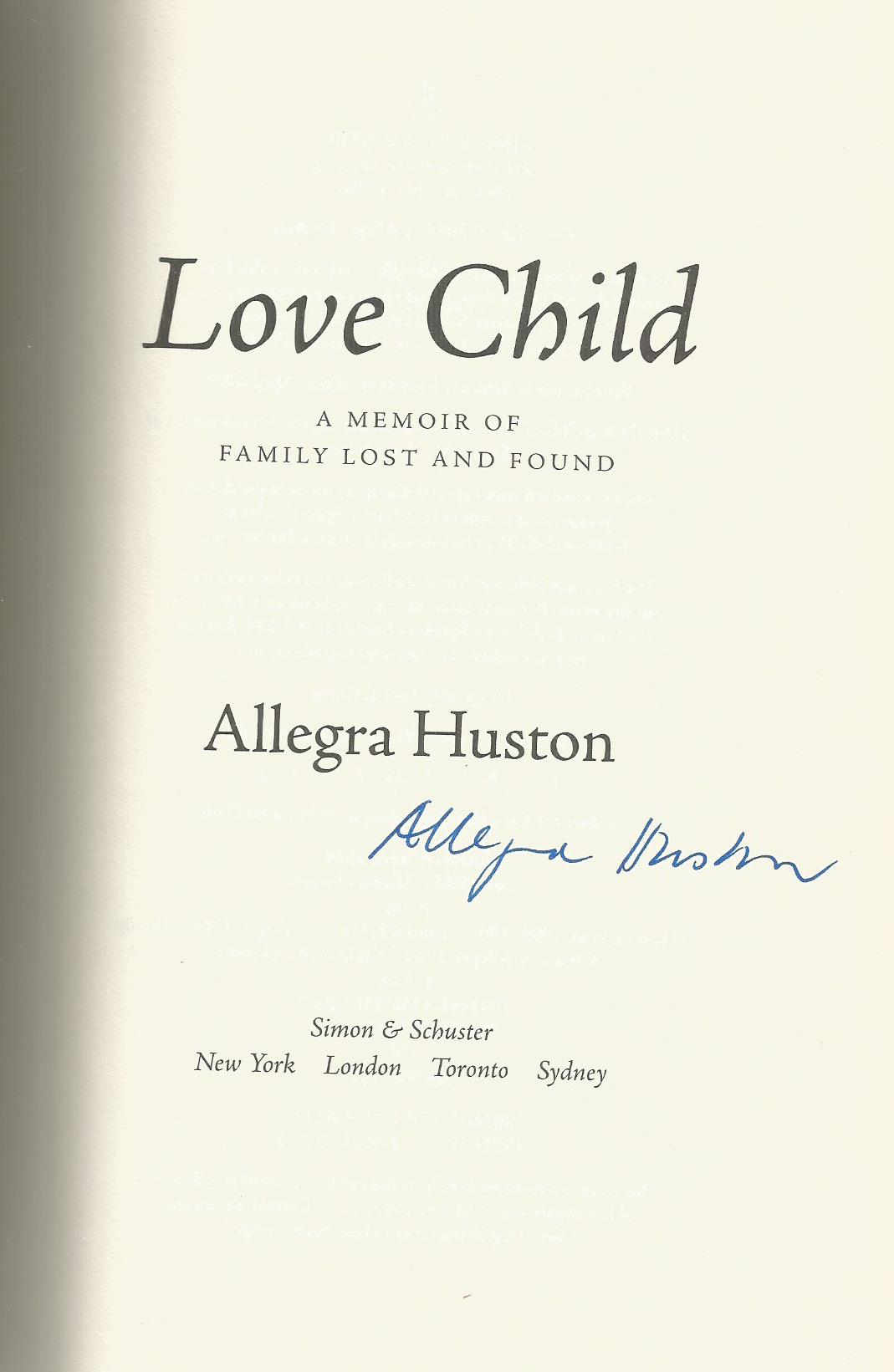 Allegra Huston