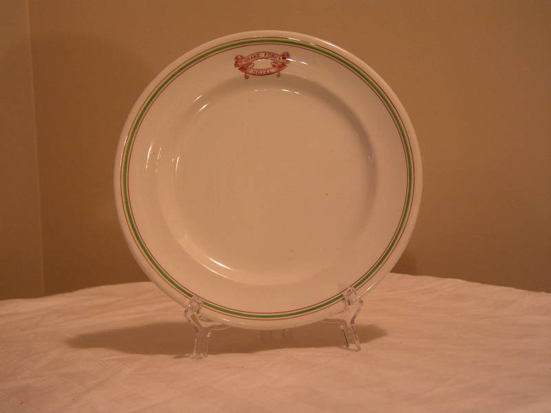 Grand Forks Hotel Plate