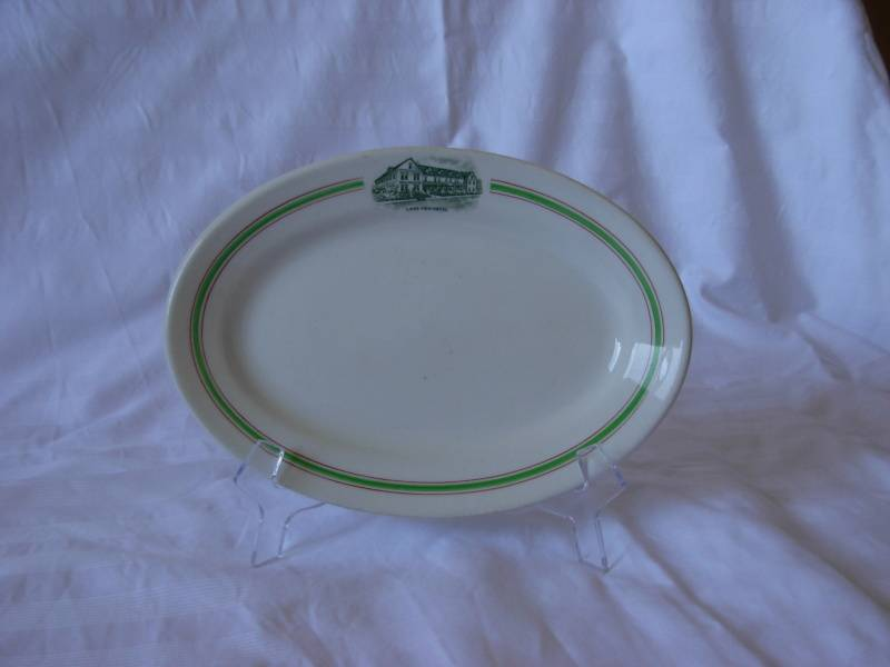 Lakeview Hotel Plate