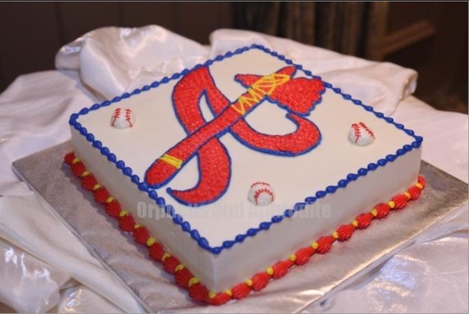 Atlanta Braves Grooms cake