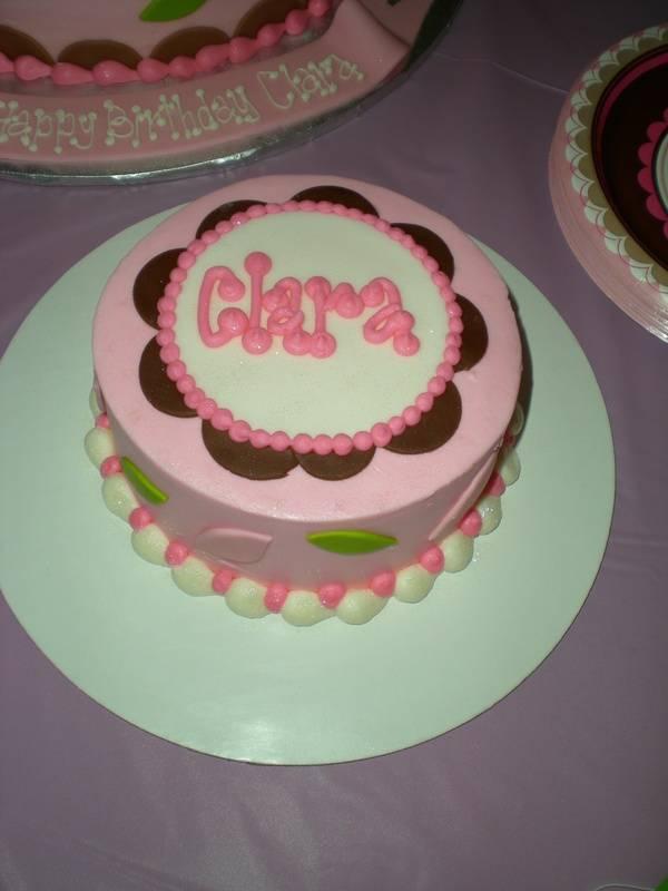 Baby Clara's smash cake