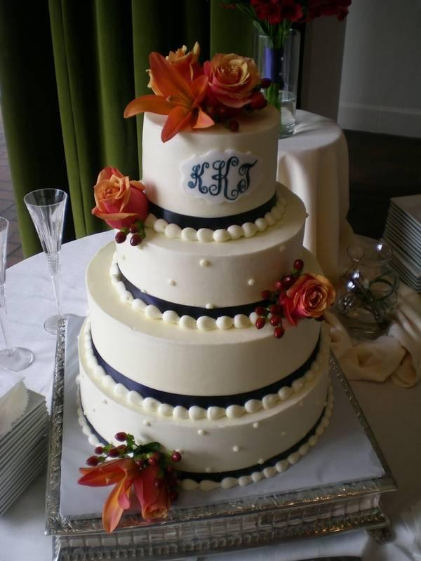 Kelly & Tad's cake
