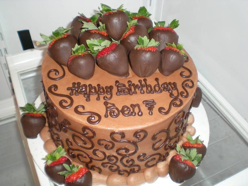 "Say ""Happy Birthday"" in chocolate!"