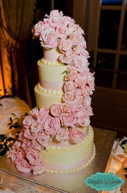Brooke's wedding cake