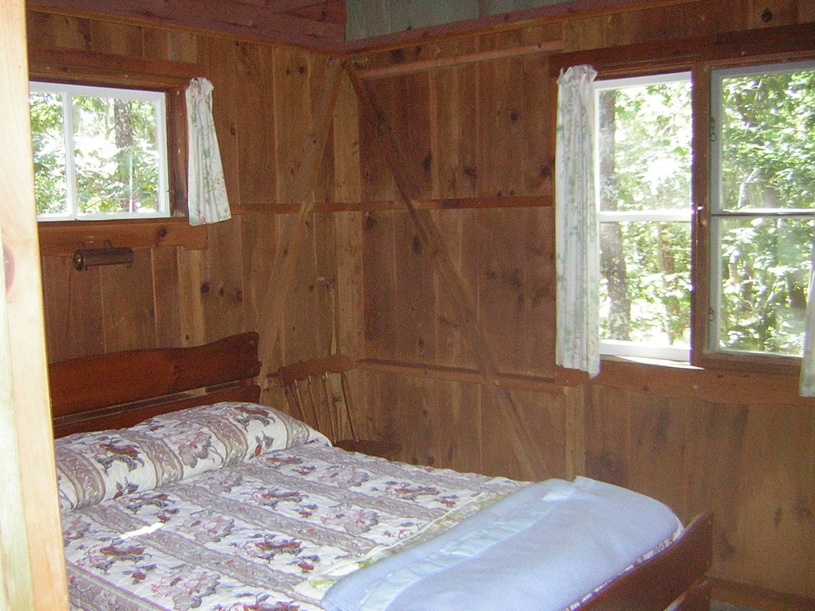 Double bedroom - South West from door