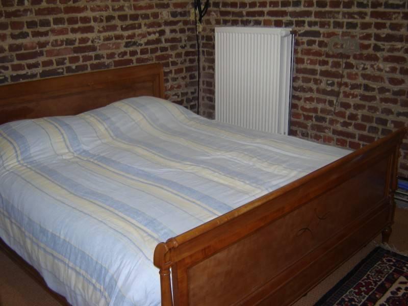 Dubbel bed in het penthouse