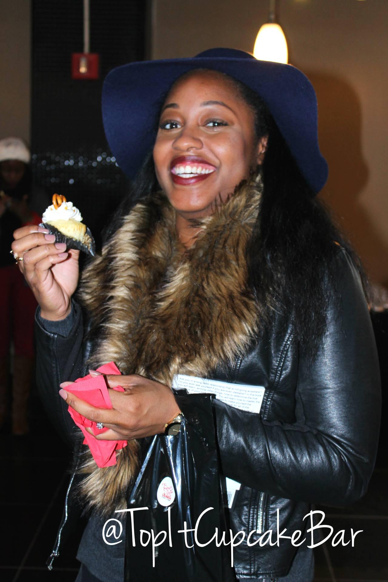 Stylish Cupcake Lady