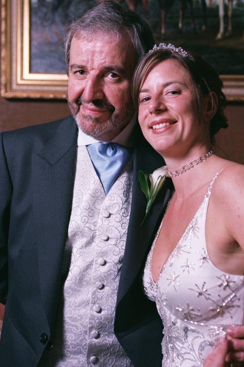 Bride and Dad 1 .