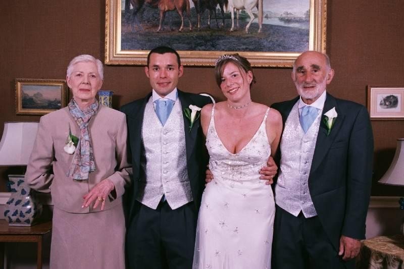 Groom's Family .