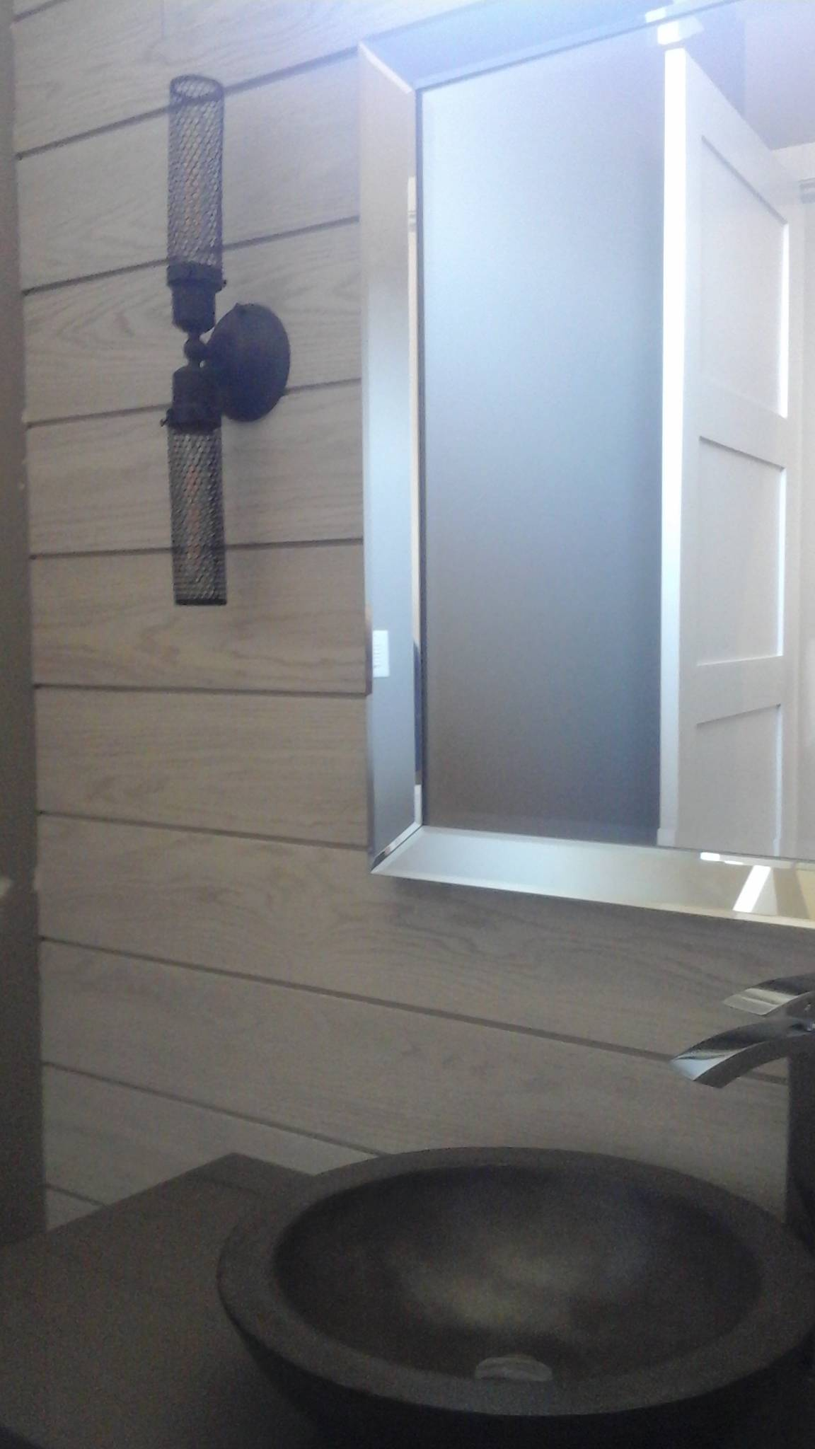 Weathered Wood Wall - Lakestone Home