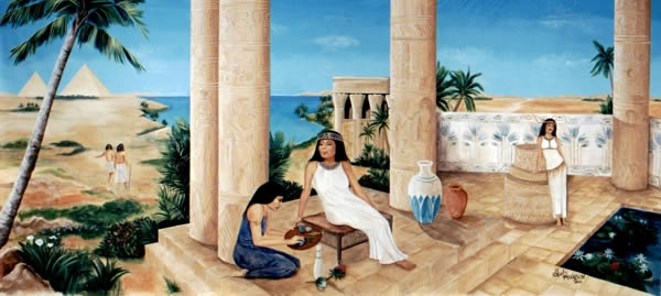 Egyptian Palace 7' x 18'
