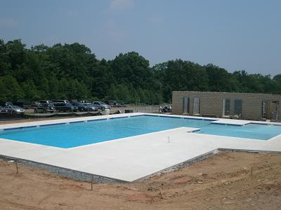 Finished Pool at Boy Scout Poconos