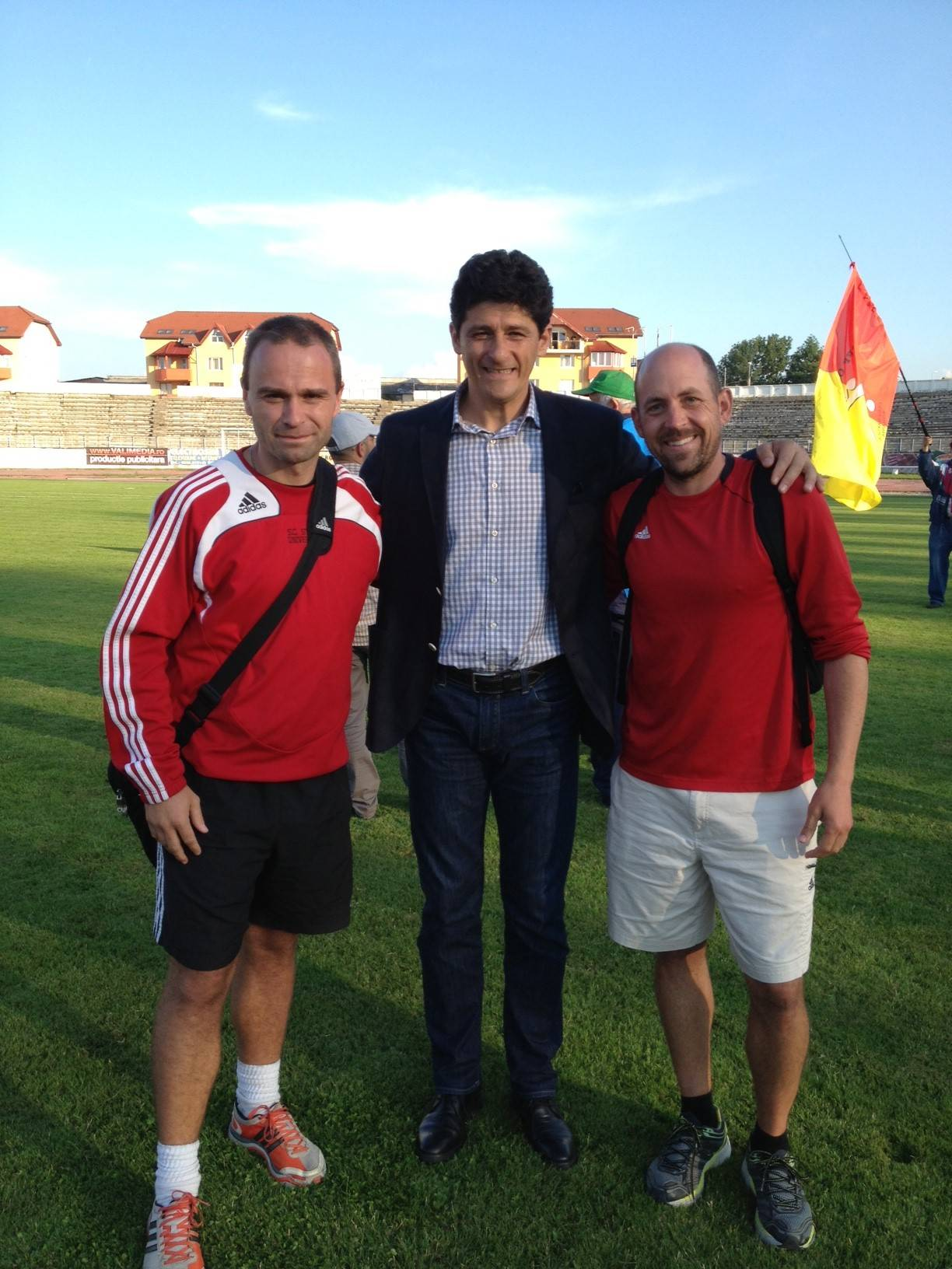 With Miodrag Belodedici and Chris Shaw