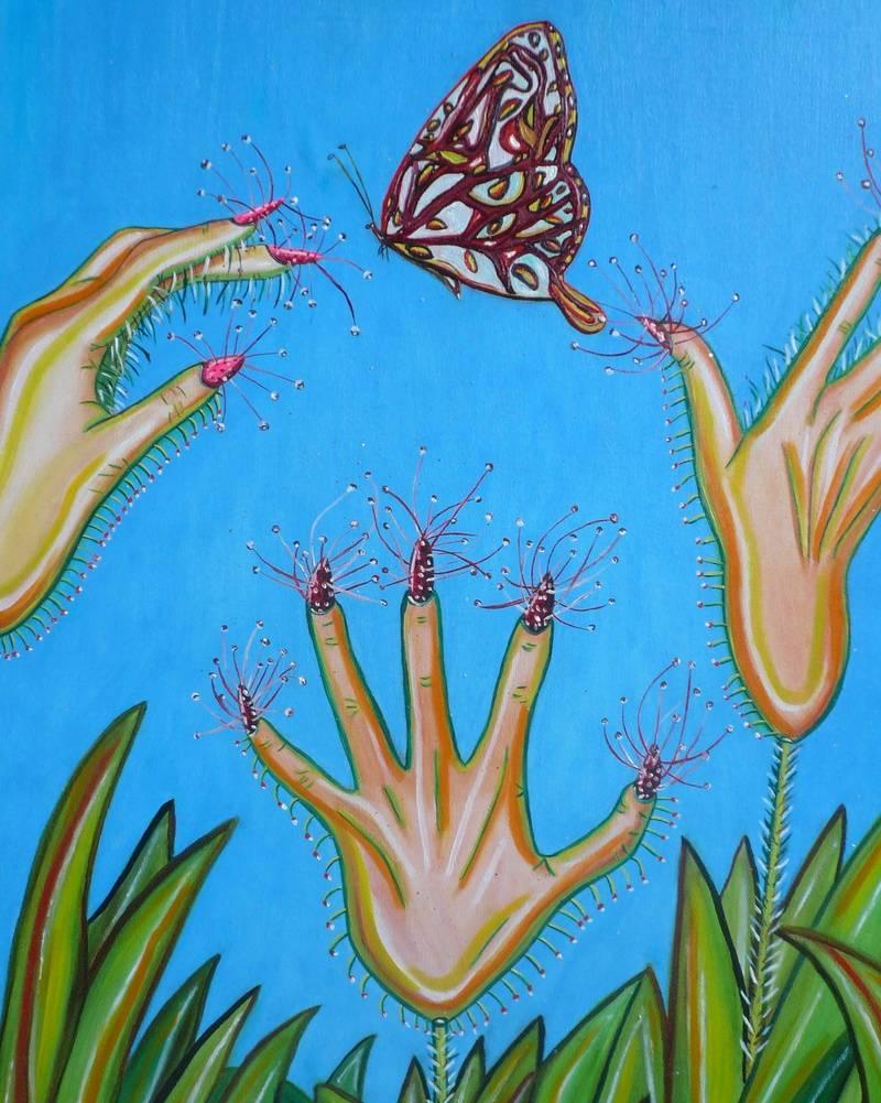 Carnivorous hands