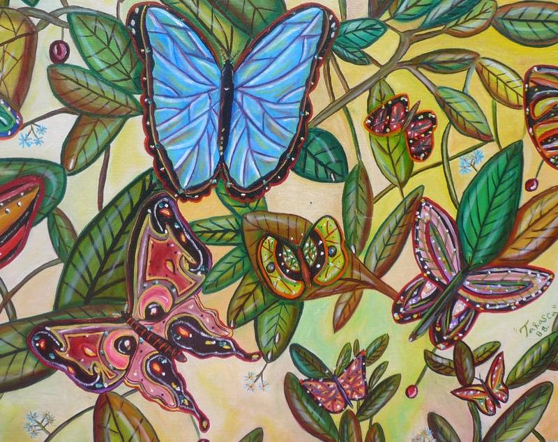 The  Butterfly Courtship
