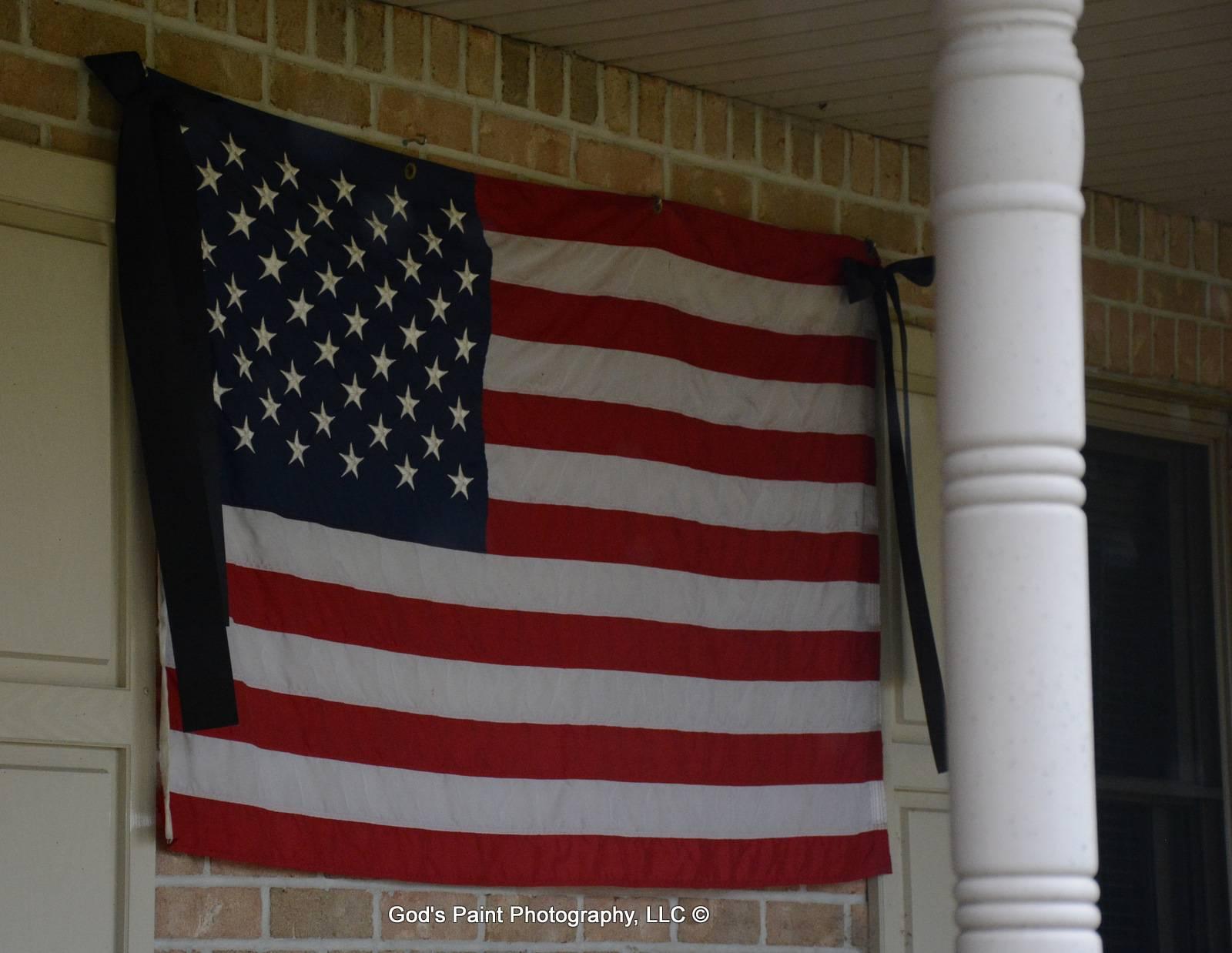 My Flag At Half Staff 9.11.15