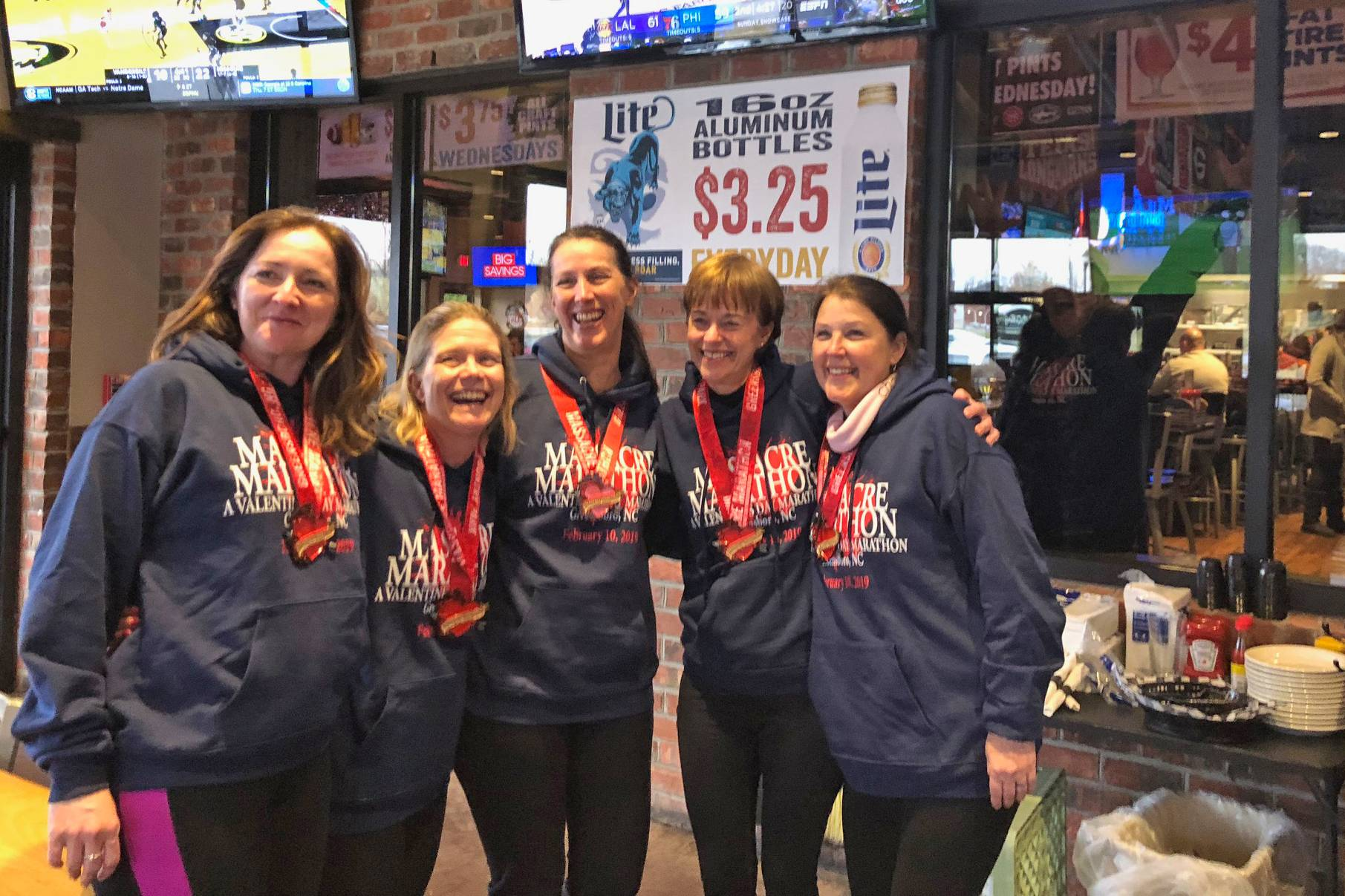 2019 Junction 311 Valentine's Massacre Marathon Team Relay