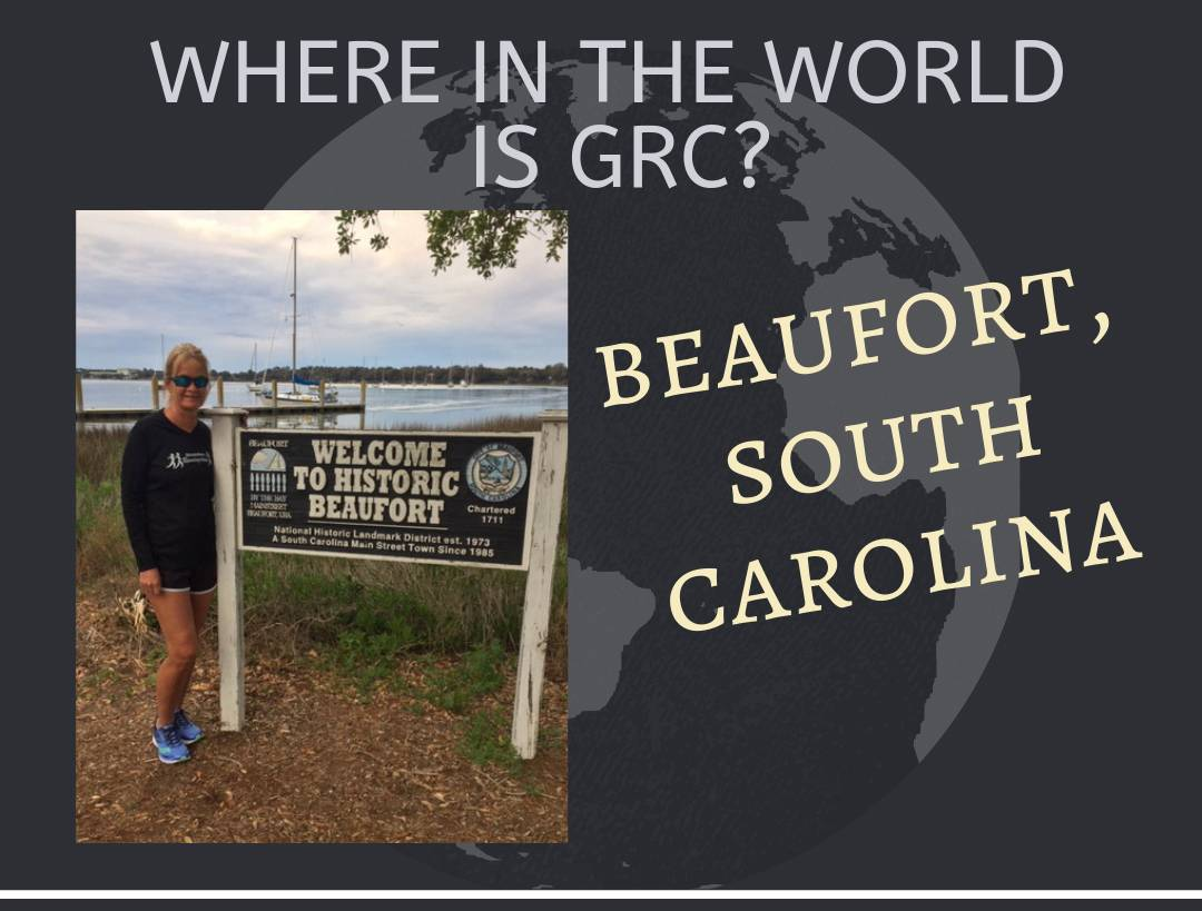 Where in the World is GRC? Beaufort, SC