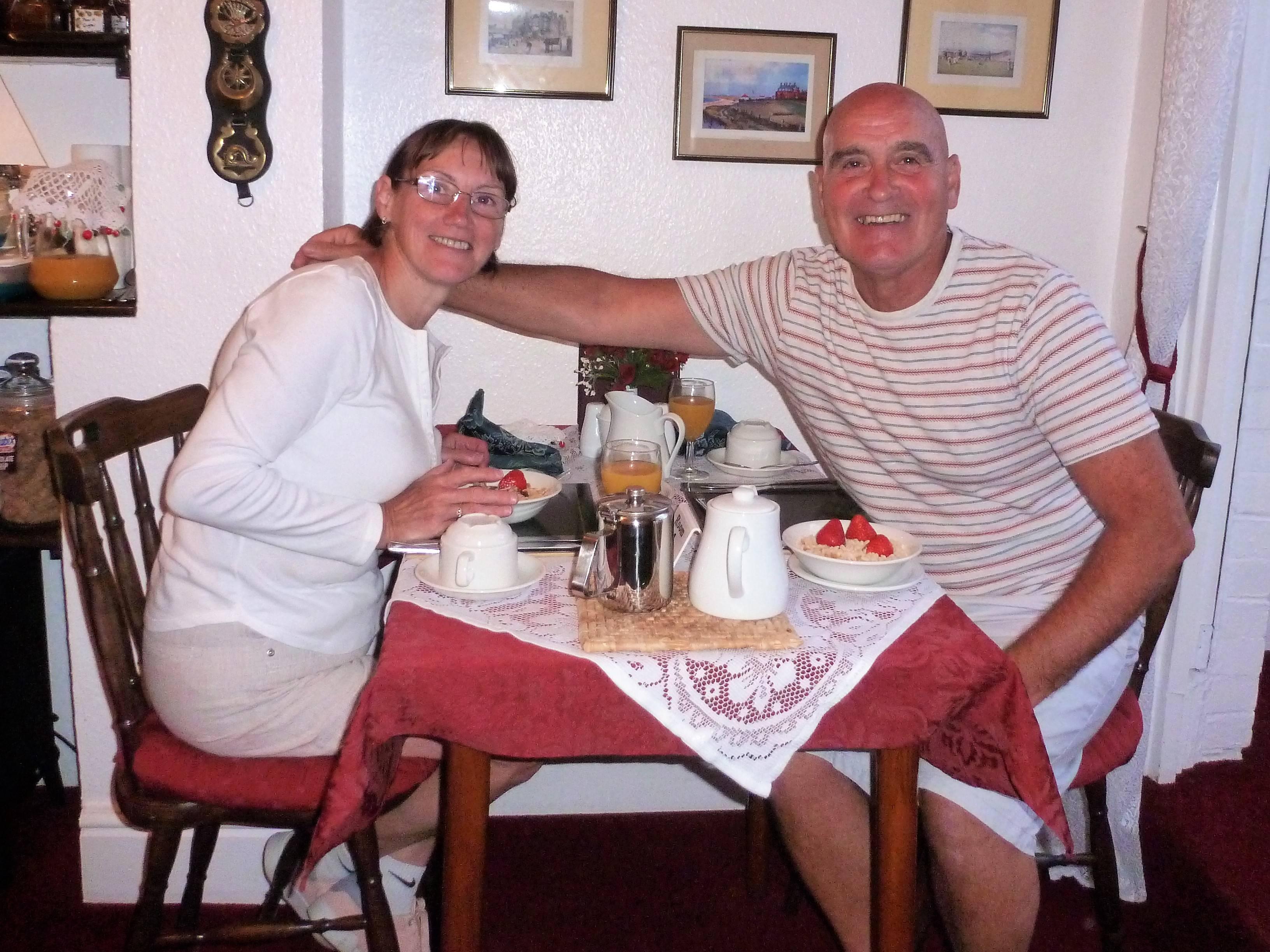 Margaret & Tom