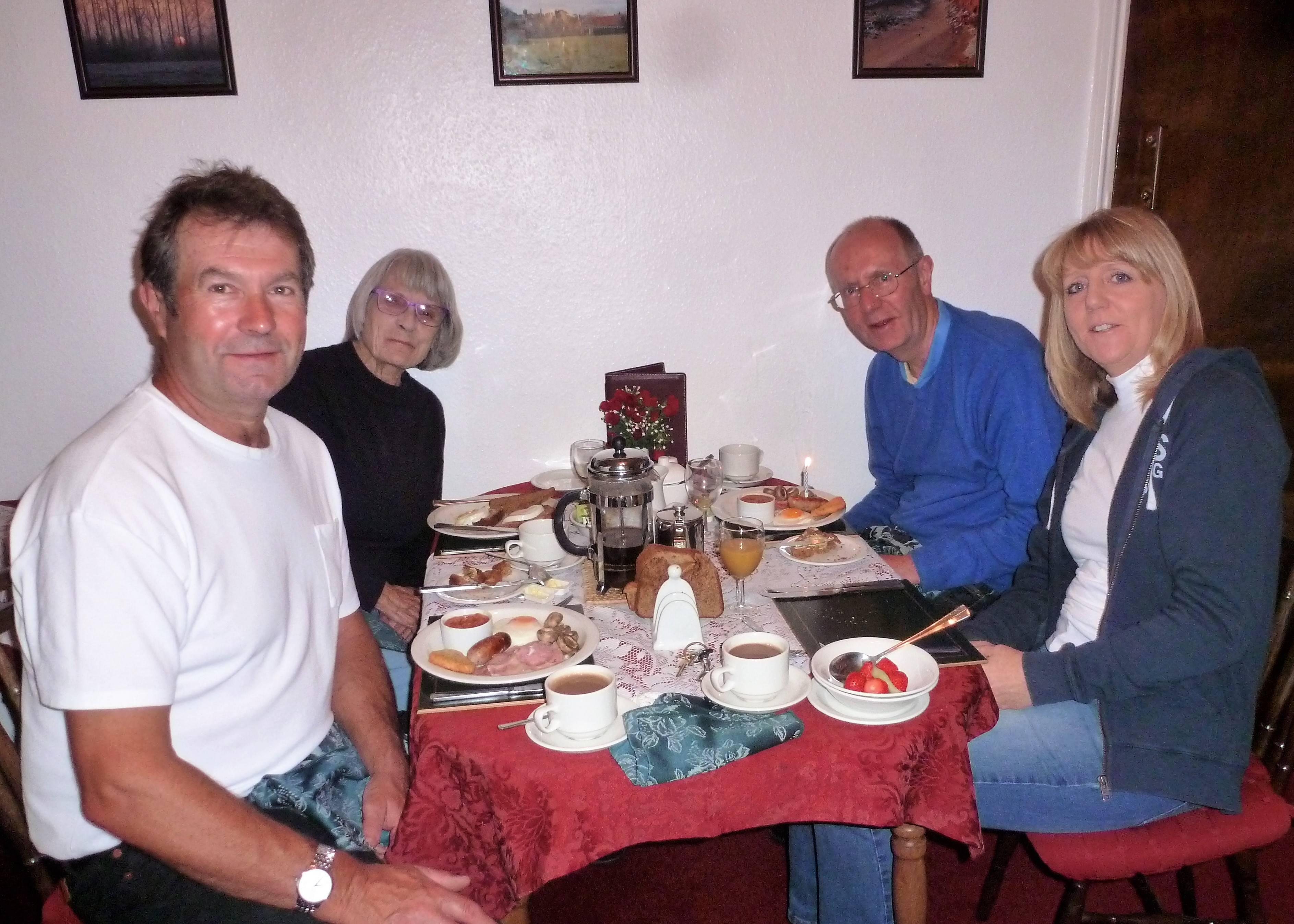 Roger, Joan Alan & Donna