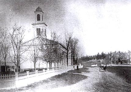 Gamble Church at Osborn Corners c.1890