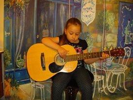 Natasha Playing