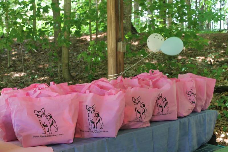 Gift bags for Every Haas Chihuahua