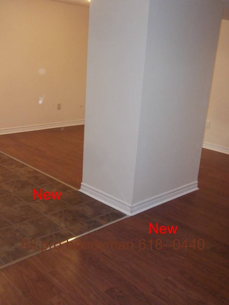 New flooring - rental apartment