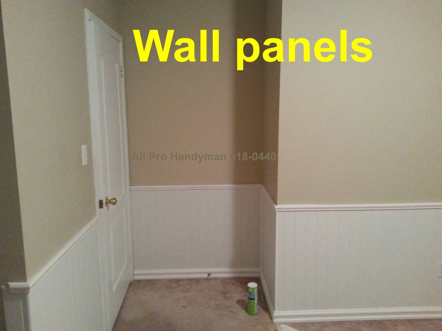 Wall panel install