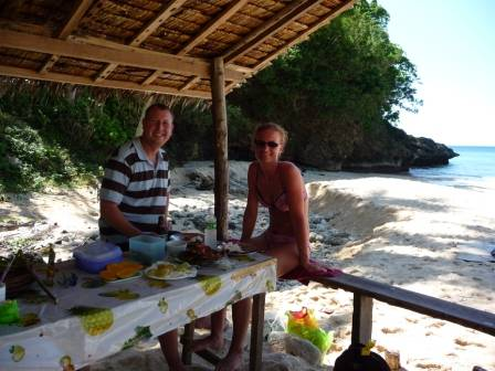 Snorkel safari  - lunch pause