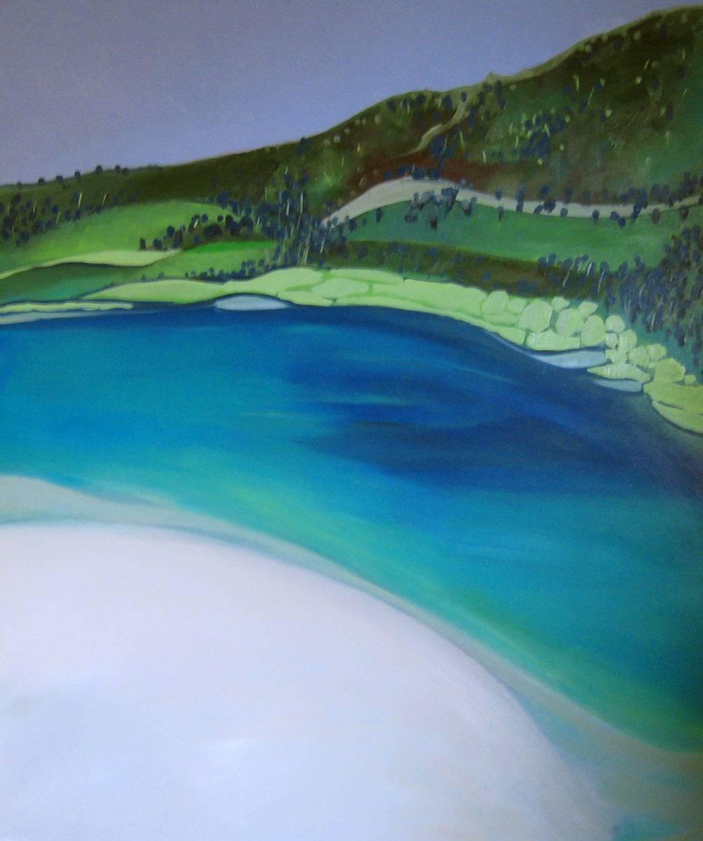 Lake Wabby and Sandblow Fraser Island