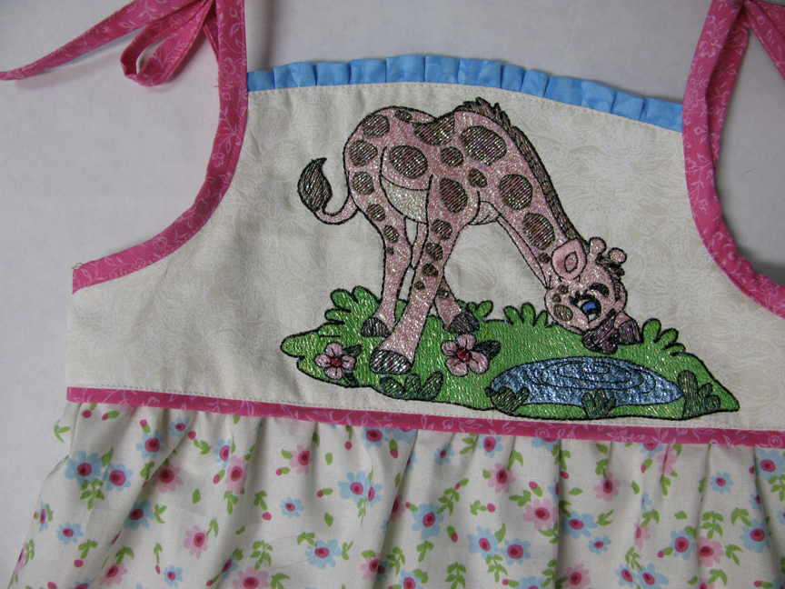 Giraffe on Bib