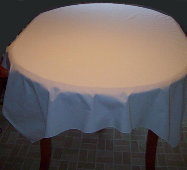 Percale Table cloth Rectangular 50 x 70 Inches