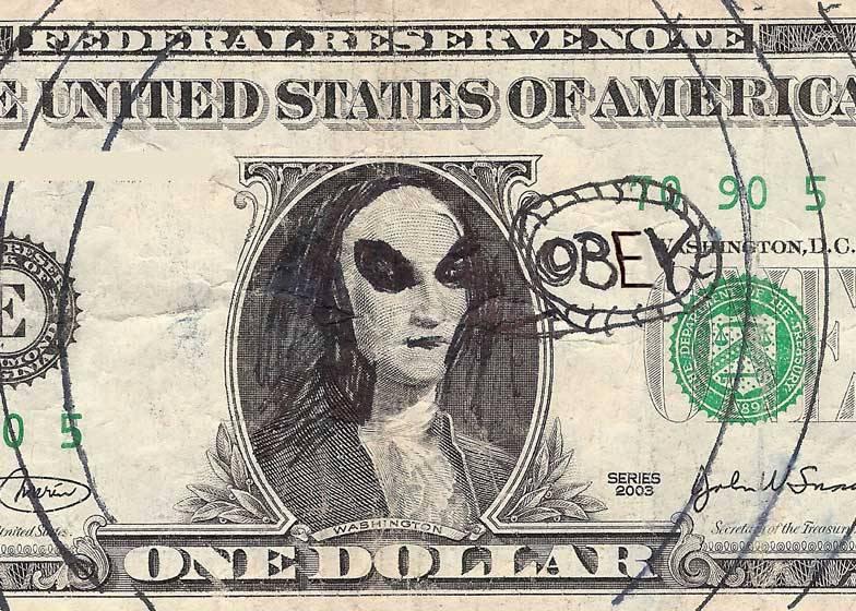 Obey Dollar Bill