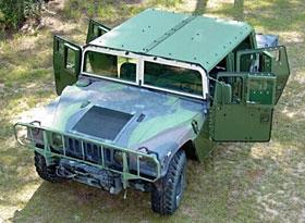 M998 with Marine Corps MAK kit installed