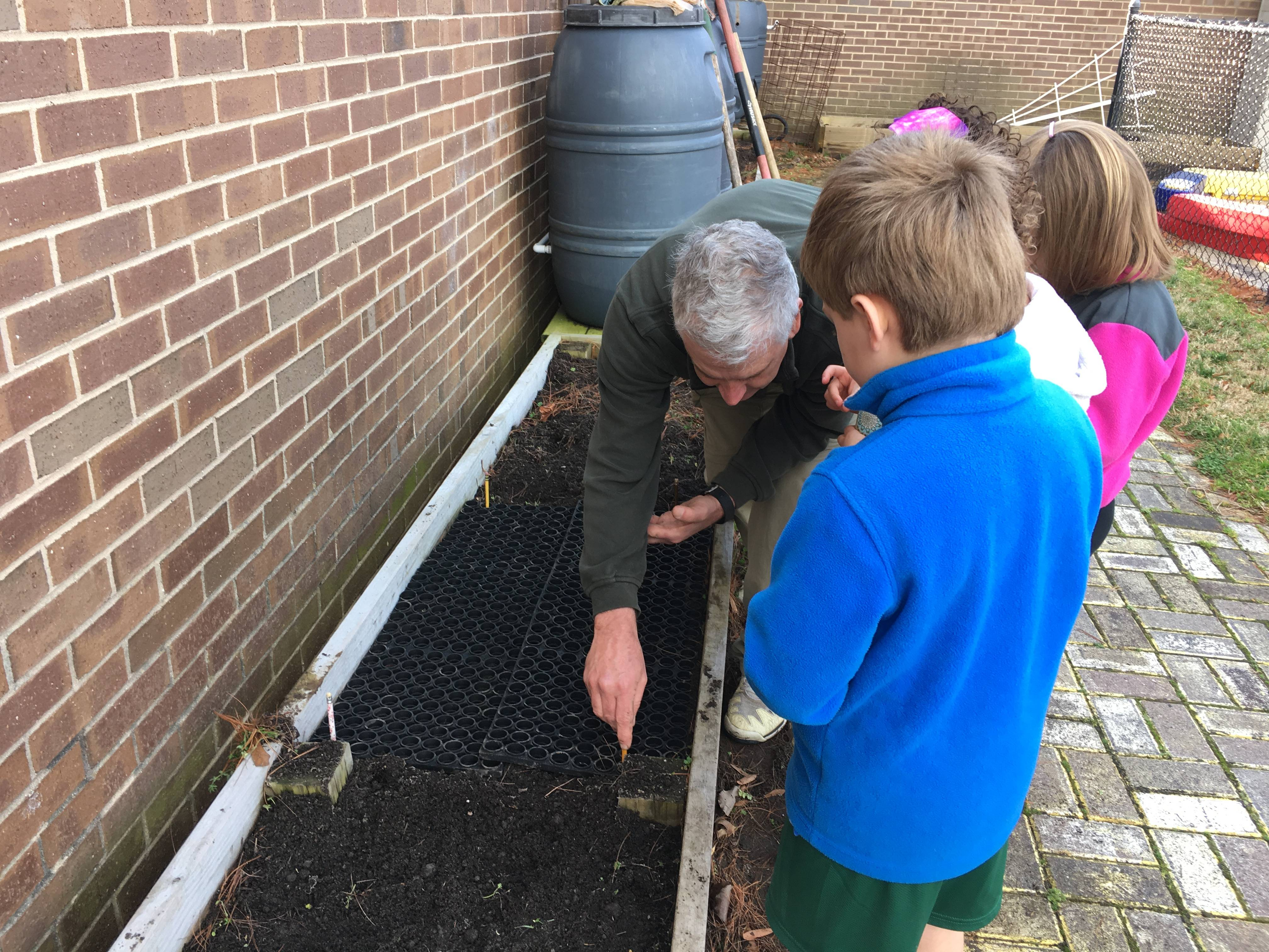 Planting Our Garden