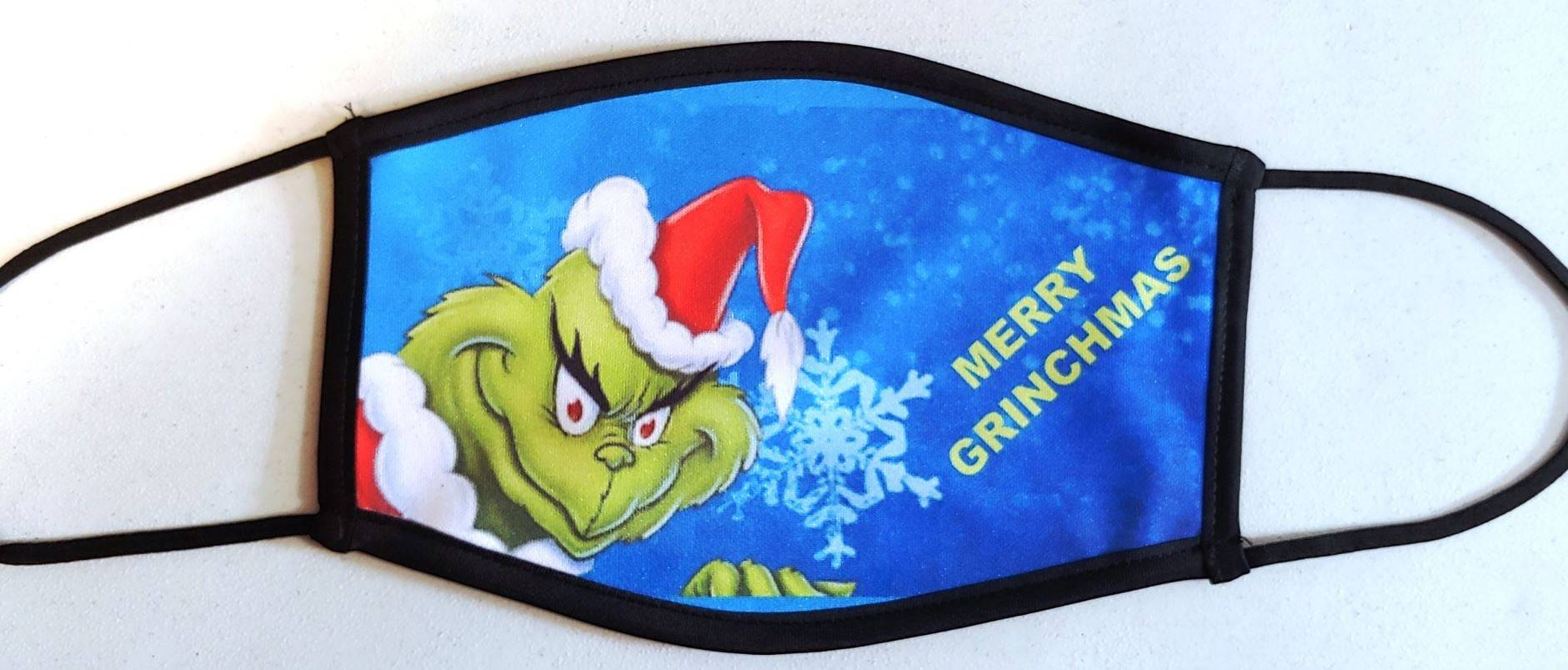 Merry Grinchmas Mask