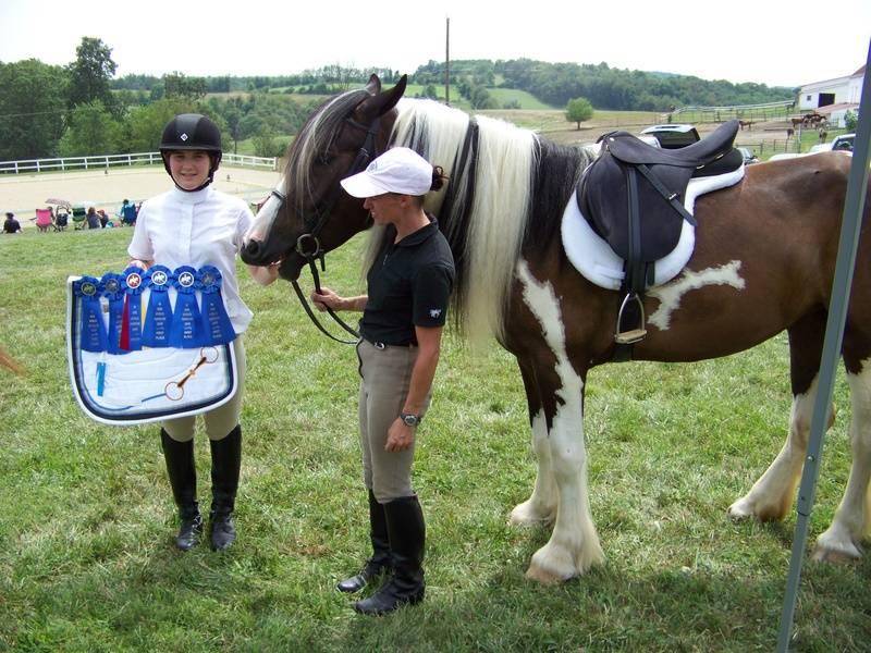 Sam/Abby and Eran (trainer) Hi Acres 2010