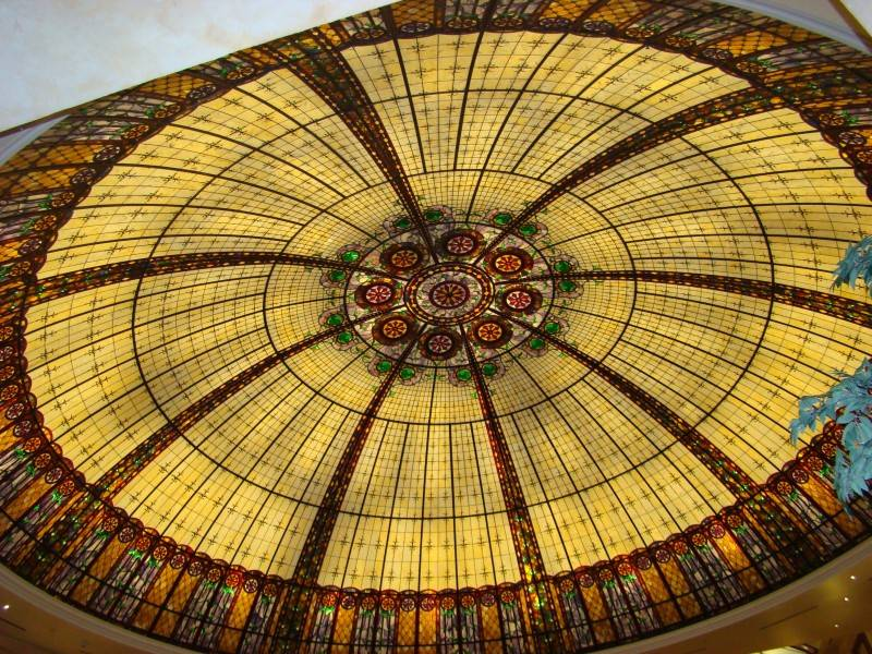THE CEILING OF THE BALLEYS MALL