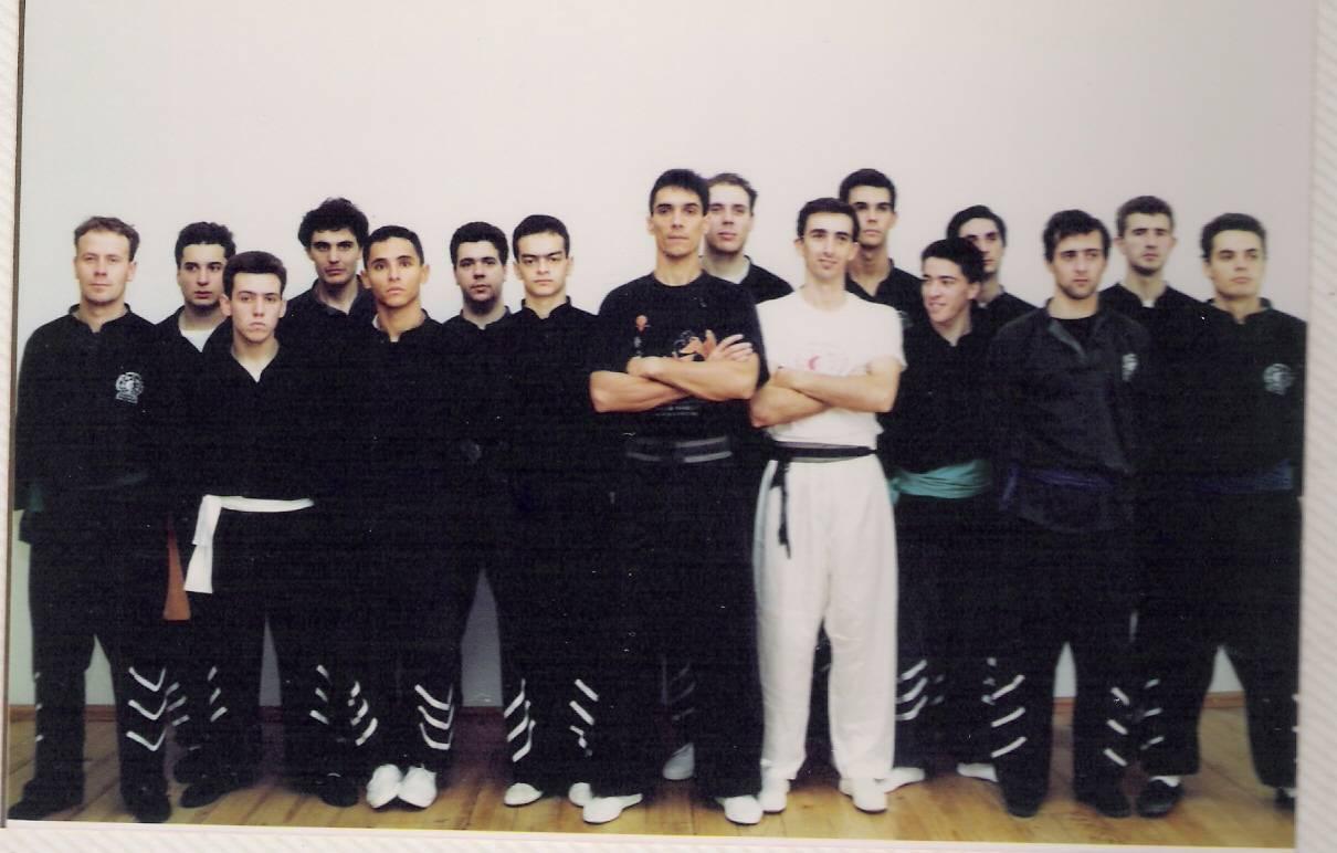 Participantes do Primeiro Curso de Instrutores ano de 1993.