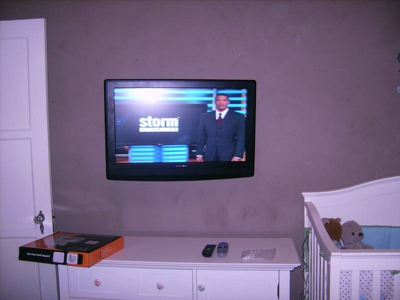 Premium TV Installation in Nursery
