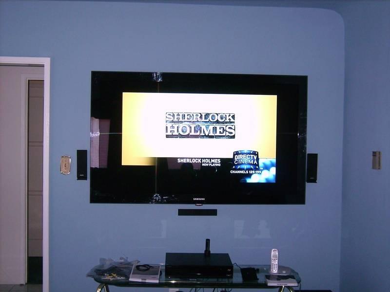 """Premium Installation 65""""Samsung with 5.1 Surround System"""