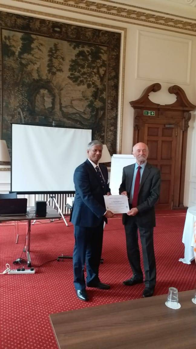 LEAP Certificate Cambridge University UK