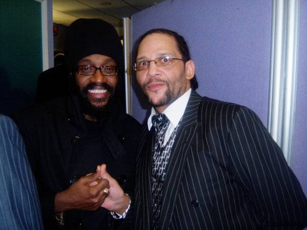Tarrus Riley and Wayne Irie