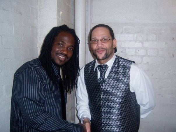 I-octane and Wayne Irie