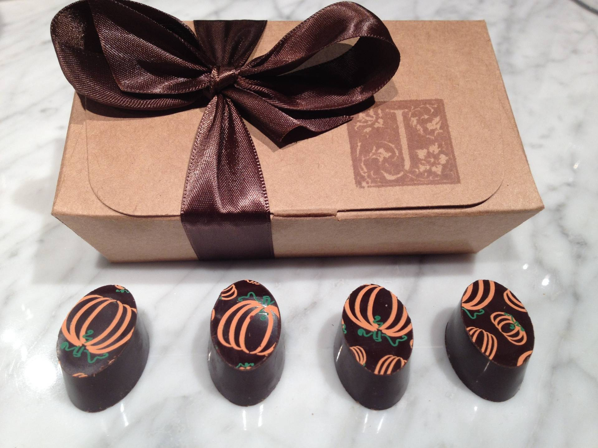 Seasonal Pumpkin Truffles