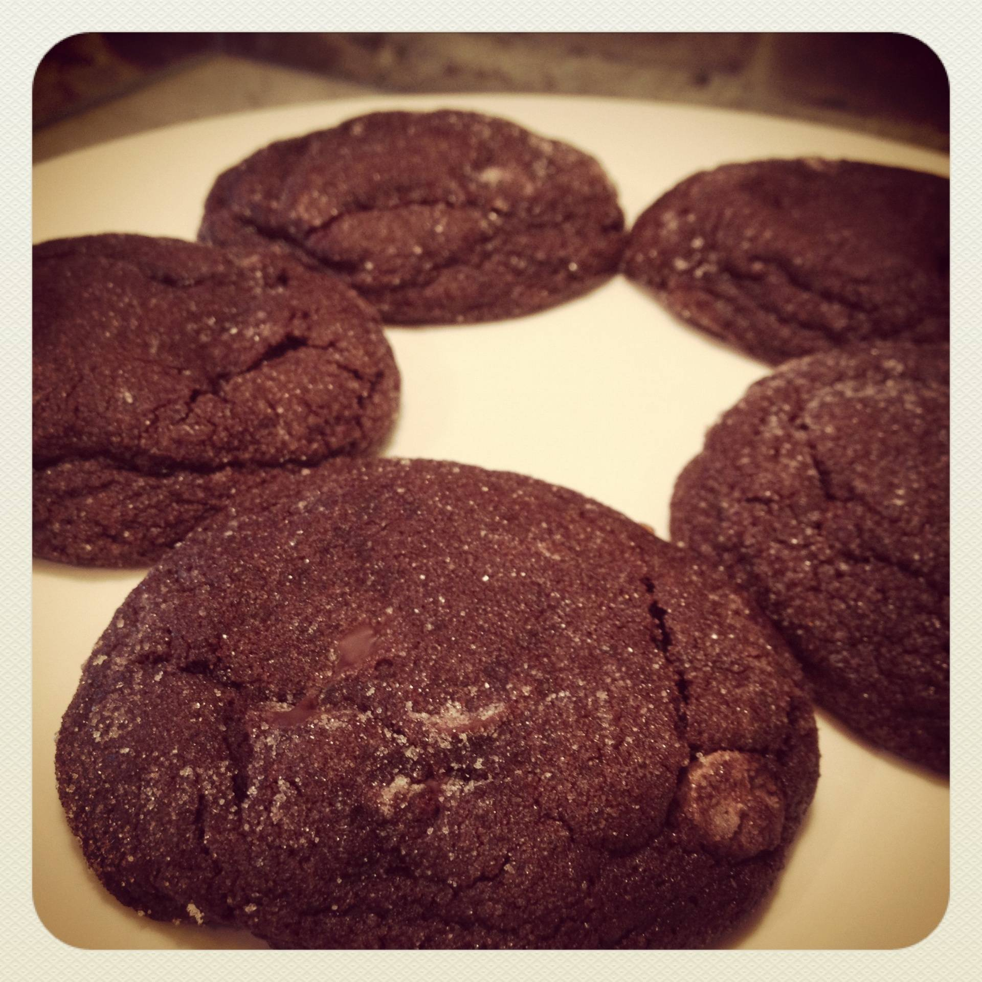 Chocolate Sparkle Cookie