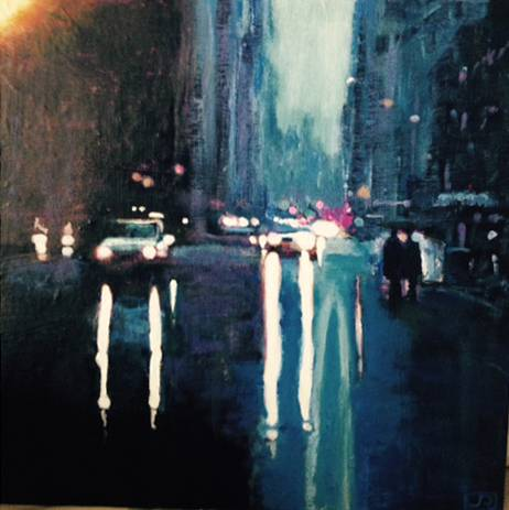 """Rainy Day Paris (SOLD)"""