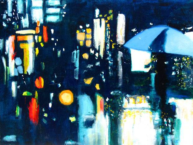 """City Lights (SOLD)"""